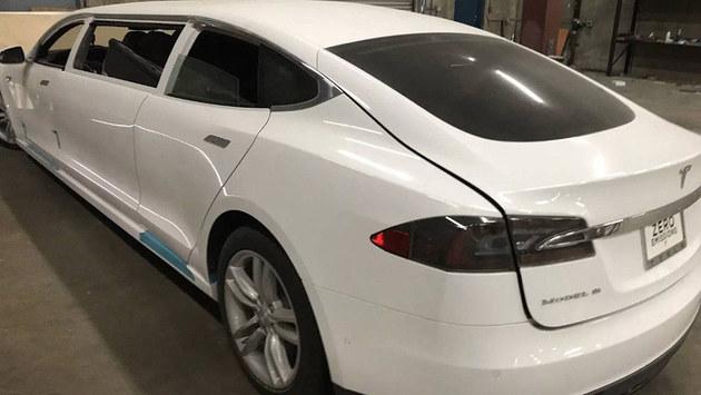 曝特斯拉Model S85加长版 即将参加拍卖