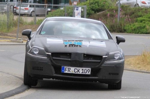 引入新5.5升V8 奔驰SLK AMG路试照曝光