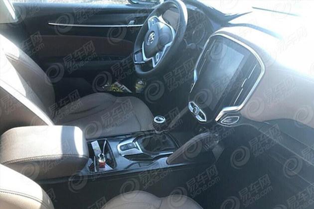曝中华V6 2.0L车型谍照 或明年夏季上市
