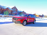 众泰T700 1.8T试驾体验 挑战严寒北极村