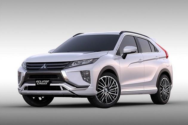 三菱发布三款改装概念车官图 或1月亮相