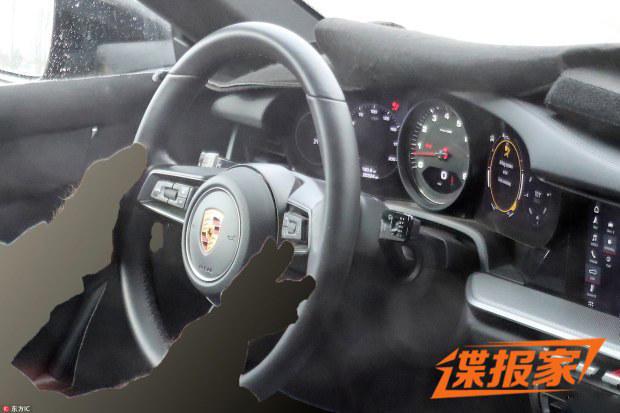 曝保时捷全新911国内最新谍照 科技升级