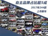 2017年244款上市新车 合资品牌篇