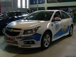 2010呼和浩特车展上海通用雪弗兰科鲁兹