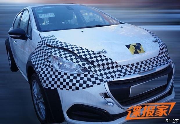 曝东风D53底盘测试车 基于CMP平台打造