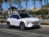 现代全新燃料电池车NEXO 2018 CES展亮相