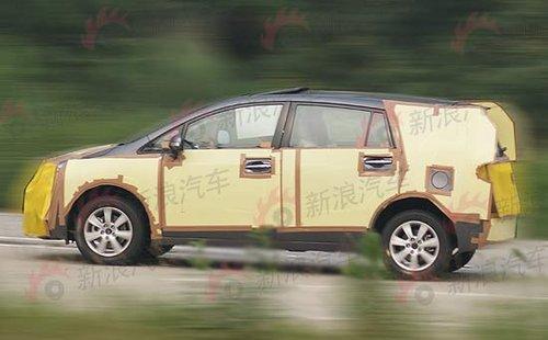 Verso路试曝光 丰田将推卡罗拉MPV车型