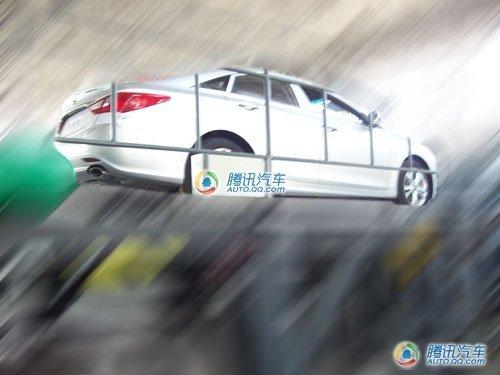 广州车展发布? 国产新索纳塔谍照曝光