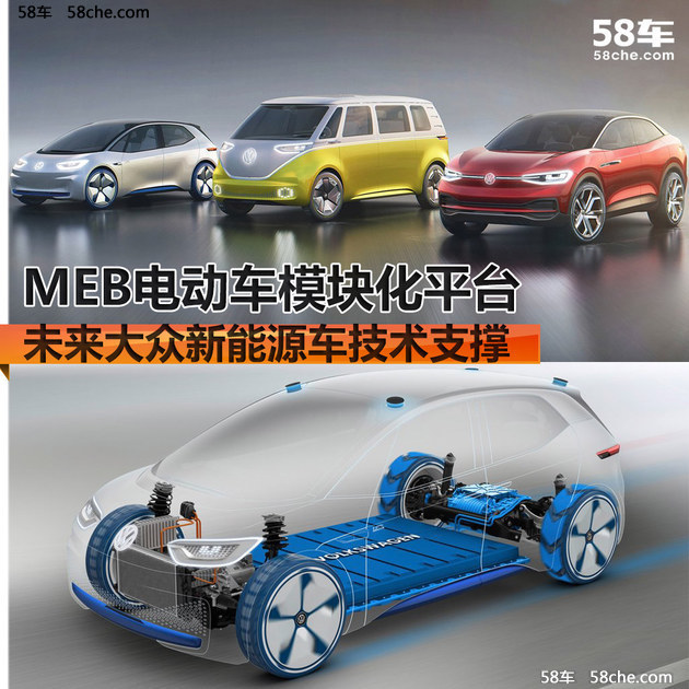 MEB电动车平台 未来大众新能源技术支撑