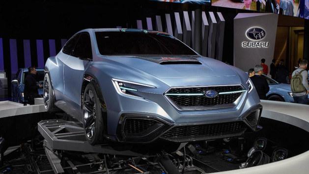 斯巴鲁全新WRX概念车预告图 基Viziv打造