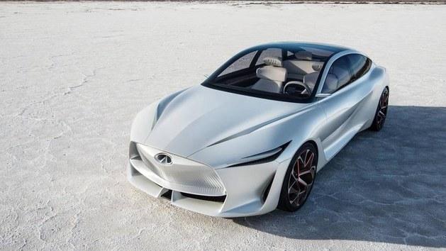 英菲尼迪新概念车最新官图 未来旗舰雏形