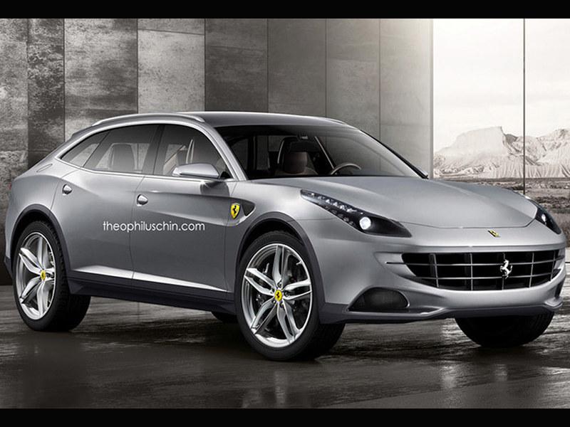 法拉利确认将推SUV车型