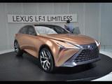雷克萨斯LF-1概念车正式亮相 科技感十足