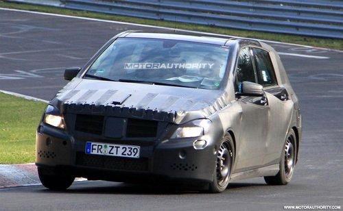 于2011年发布 新一代奔驰B级车假想图