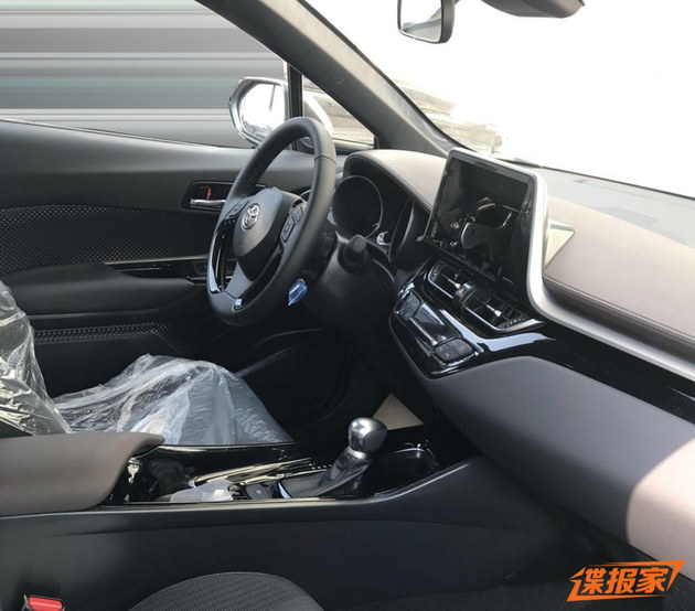 广汽丰田C-HR谍照曝光 或今年年中上市