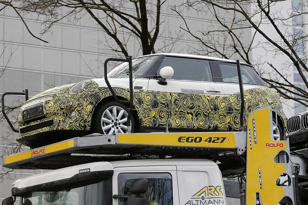 MINI Electric谍照曝光 基3门版车型打造