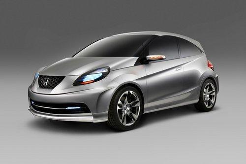 比飞度小一号 本田NSC小型车明年推出
