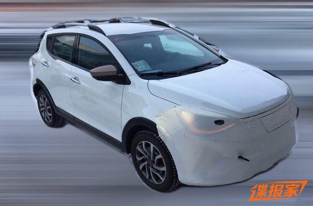 疑似江淮大众新车专利图 定位小型SUV