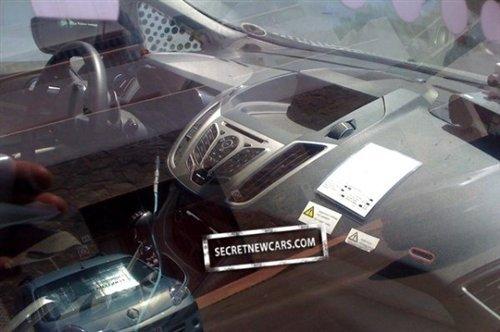 配1.6T发动机 福特Grand C-MAX谍照曝光