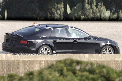 今年9月发布 奥迪A7量产车型谍照曝光