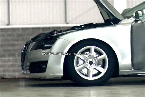 预计今年8月发布 奥迪A7海外路试曝光
