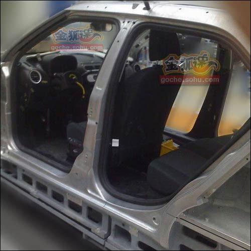 个性两厢小车 上汽名爵MG3最新谍照曝光