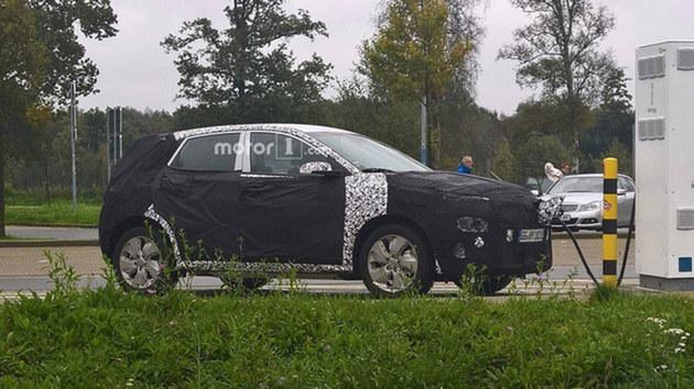 现代Kona EV预告图曝光 日内瓦车展亮相