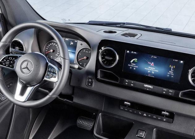 奔驰全新Sprinter首发亮相 起售15.5万元