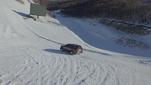 荣威RX8 挑战最高难度雪道