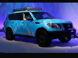 2018芝加哥车展 日产Armada雪地概念发布