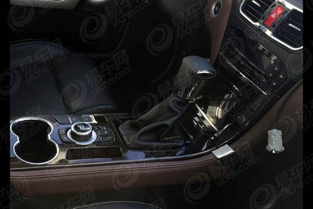 金杯S70自动七座版内饰谍照 质感获提升