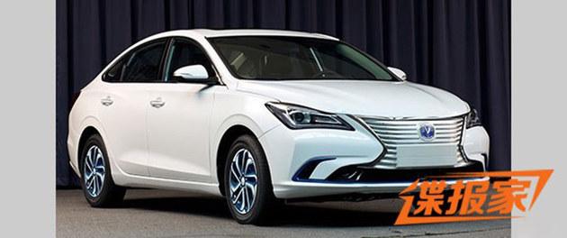 长安全新逸动EV申报图曝光 或年内上市