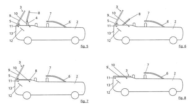 敞篷SUV专利曝光 奥迪有望推出Q8敞篷版