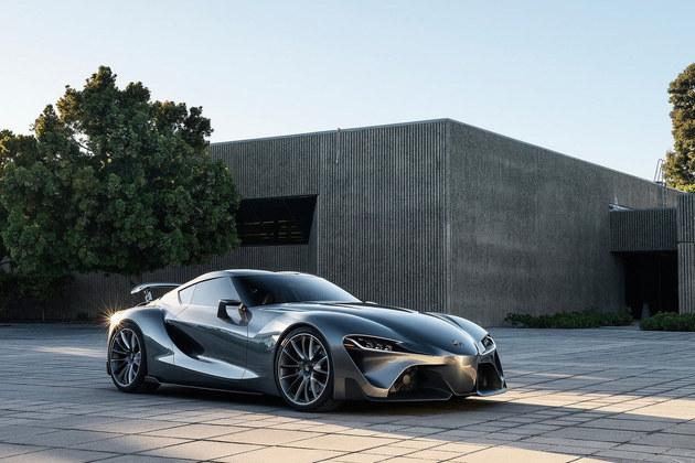丰田Supra赛车预告图 将日内瓦车展发布