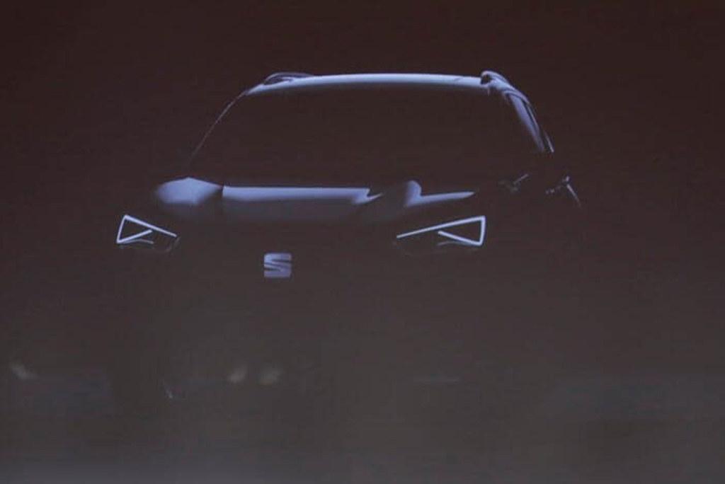西雅特新SUV或3月亮相