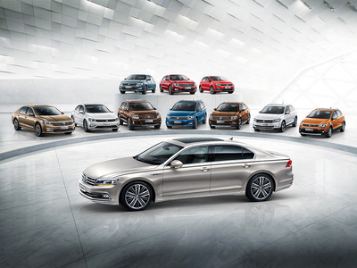 上汽大众1月销量超21.3万辆 同比微增长