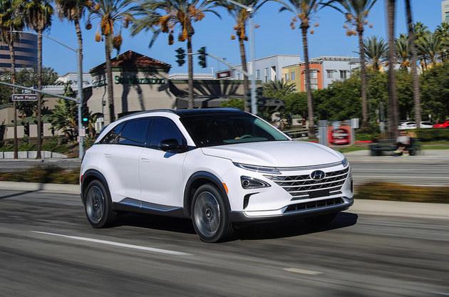 现代全新燃料电池概念车 日内瓦车展亮相