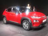2018日内瓦车展 现代KONA EV正式亮相