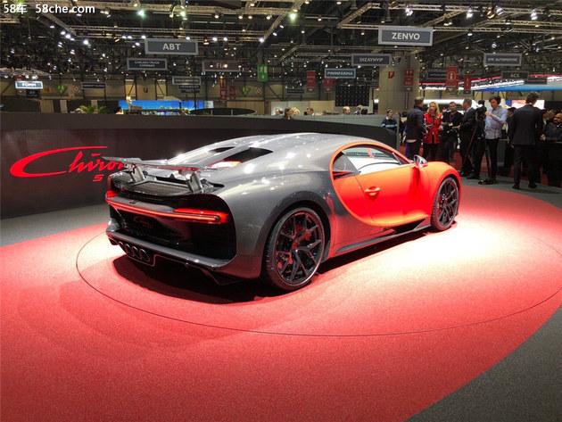 2018日内瓦车展 布加迪Chiron Sport发布