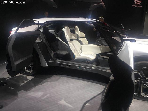 2018日内瓦车展 三菱 e-EVOLUTION概念车