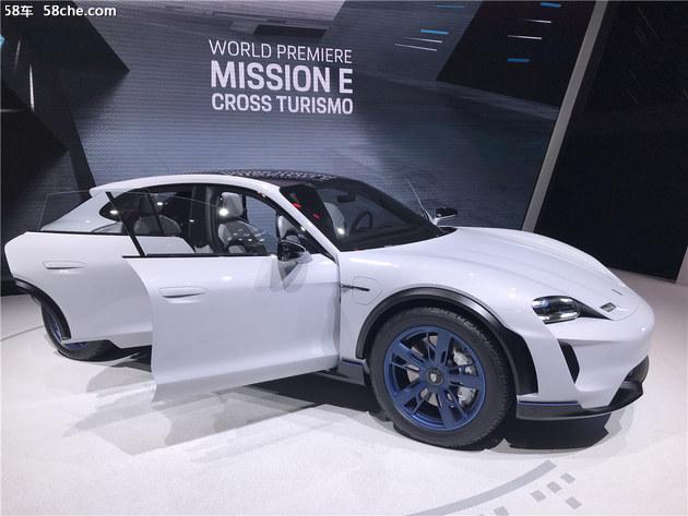 2018日内瓦车展 保时捷Mission e概念车