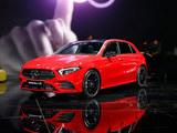2018日内瓦车展实拍 奔驰新一代A级轿车