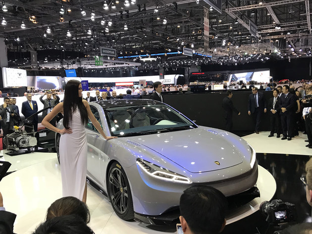 日内瓦车展 绿驰-金星电动轿跑全球首发