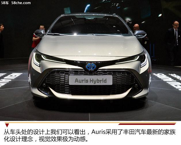 2018日内瓦车展实拍 丰田Auris Hybrid