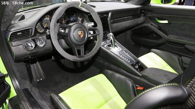 2018年日内瓦车展 保时捷911 GT3 RS亮相