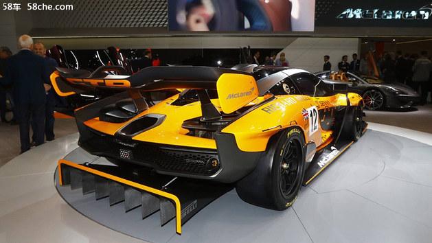 2018日内瓦车展 迈凯伦Senna GTR概念车