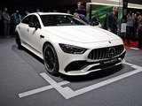 2018日内瓦车展 奔驰AMG GT四门版实拍