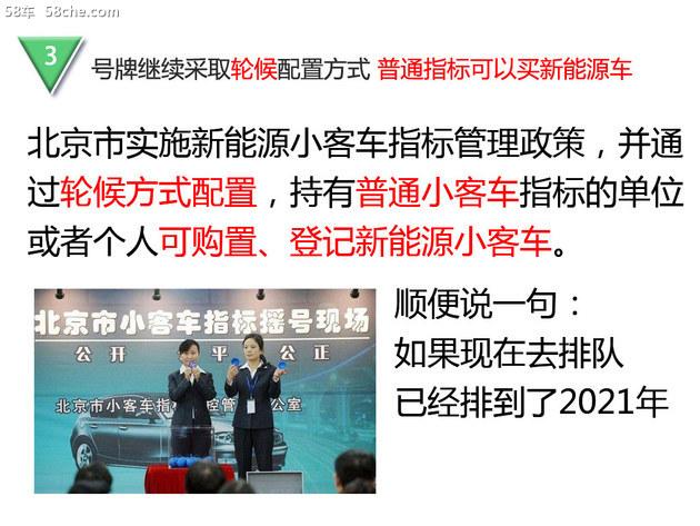 """取消""""小目录"""" 北京市新能源车管理办法"""