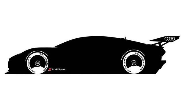 奥迪e-tron Vision GT概念车预告图发布