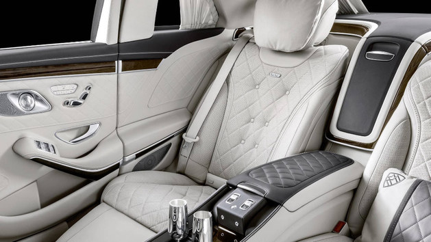 迈巴赫S650 Pullman官图 增加V12发动机